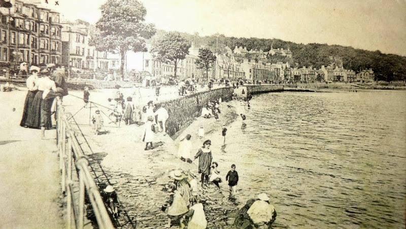 Children's Corner, Rothesay 1905.