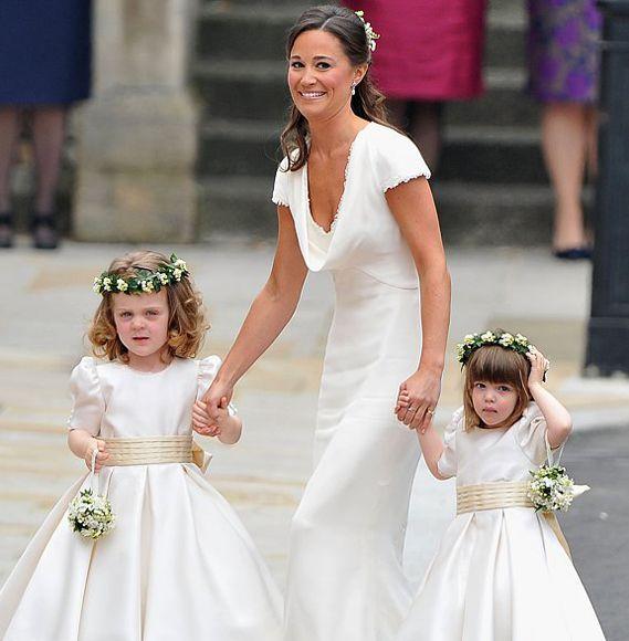 Royal Flower Girl Dresses