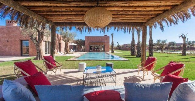 Passez votre séjour au Maroc dans une villa Marrakech avec SPA privé - location saisonniere avec piscine privee