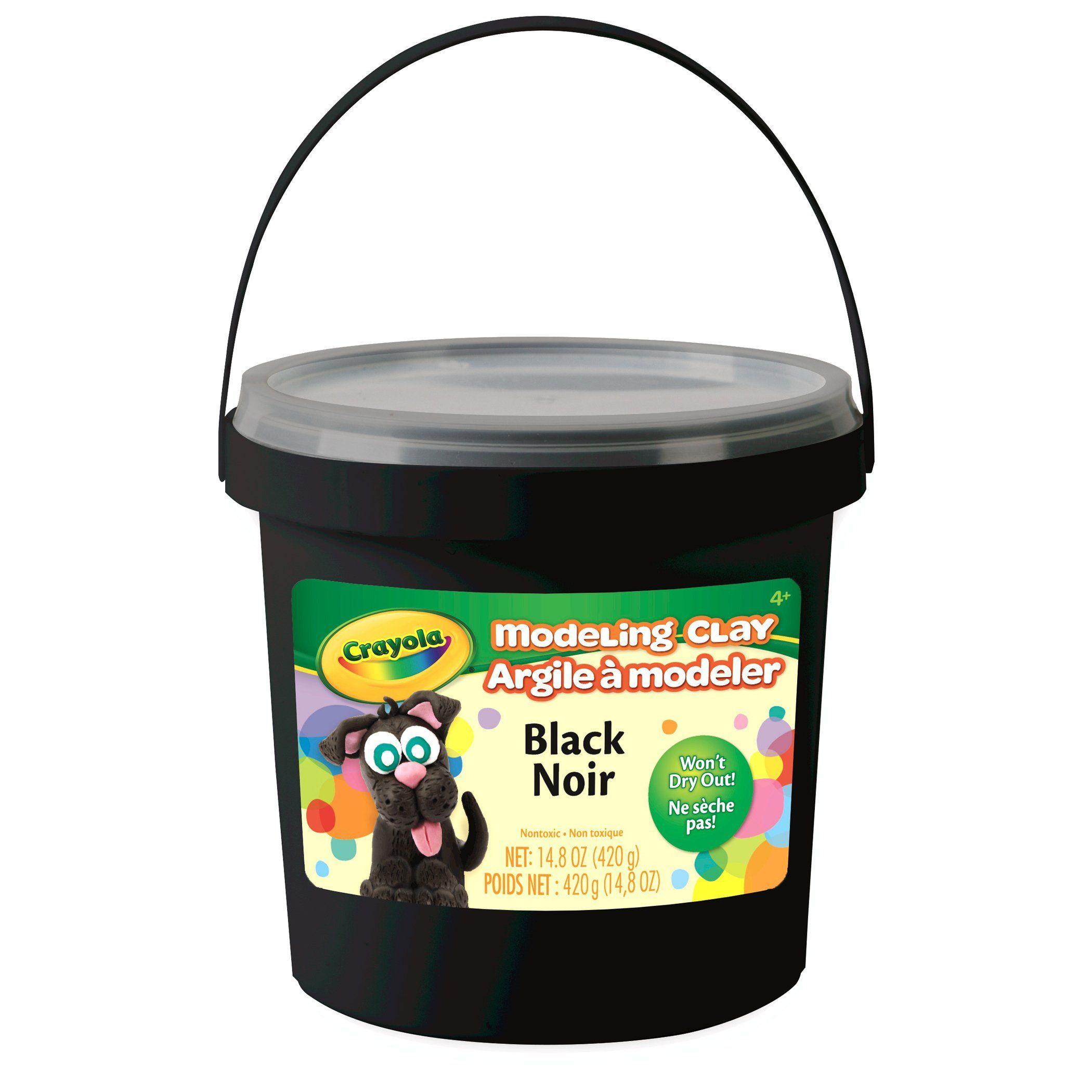 Crayola® Modeling Clay, 1 Lb Bucket Black
