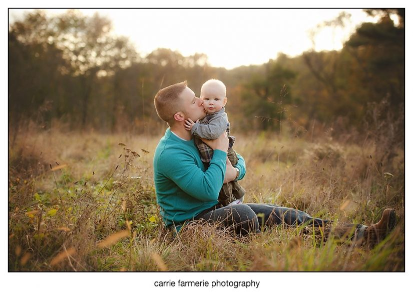Carrie farmerie pittsburgh family and children photographer 6 month boy outdoor fall session