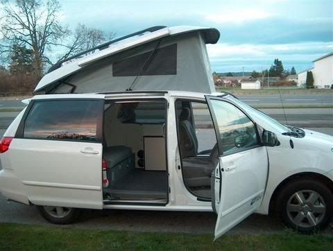 Customized Poptop Minivans Google Search Wish I Could See More Inside Details Mini Van Toyota Sienna Pop Top Camper