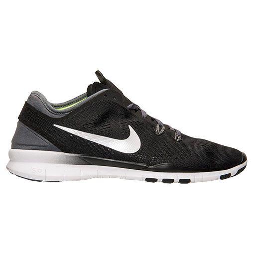 4f8b2e5d173a Women s Nike Free 5.0 TR Fit 5 Training Shoes - Black White Dark Grey -   99.99