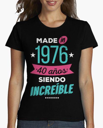 Camiseta Made in 1976  d3aa399ebcb77