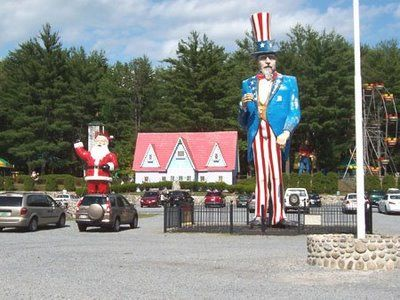 Uncle Sam and Santa :D