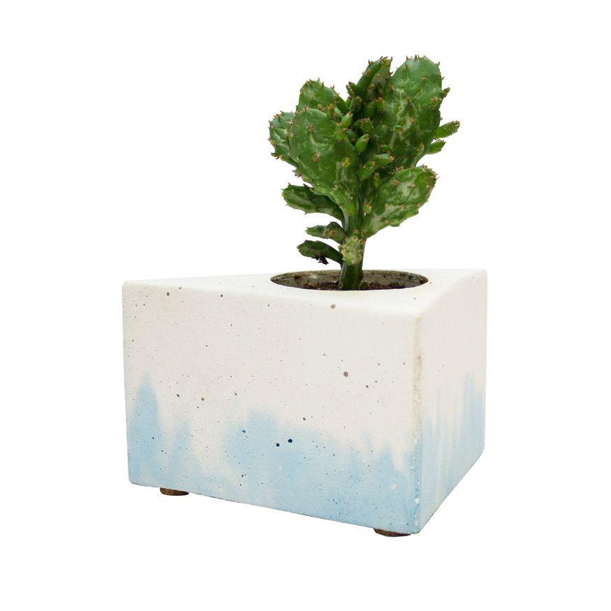 Gradient Plant Pot Blue Gsa Shop Concrete Plant Pots