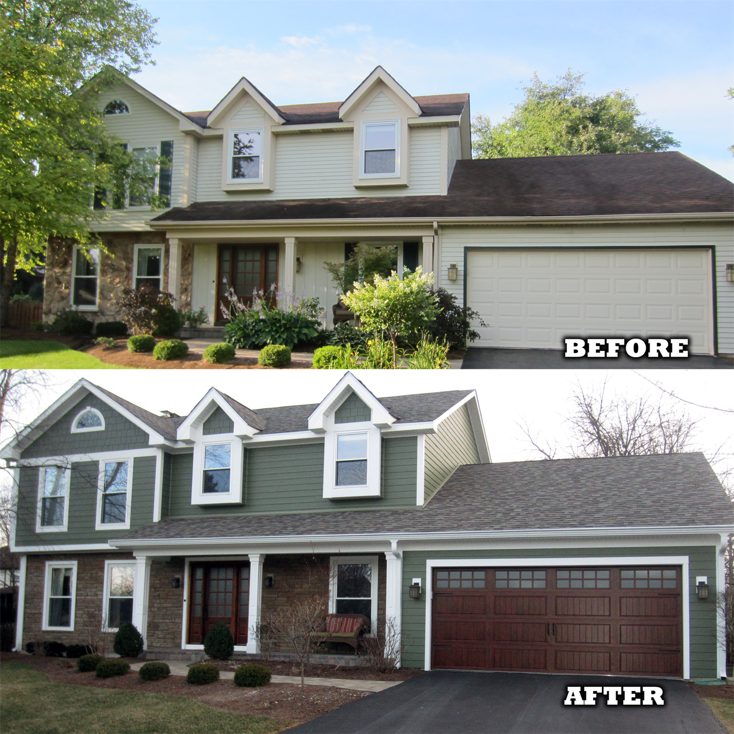 Design Ideas Photo Showcase Home Exterior Makeover Vinyl Siding House House Paint Exterior