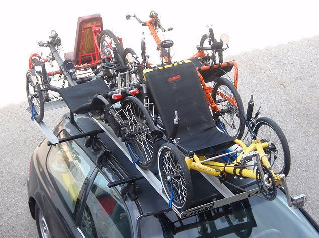 Bruce S Trike Carrier Recumbent Trikes Bicycles Pinterest