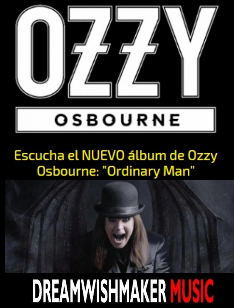 """Escucha el NUEVO álbum de Ozzy Osbourne """"Ordinary Man"""" en"""