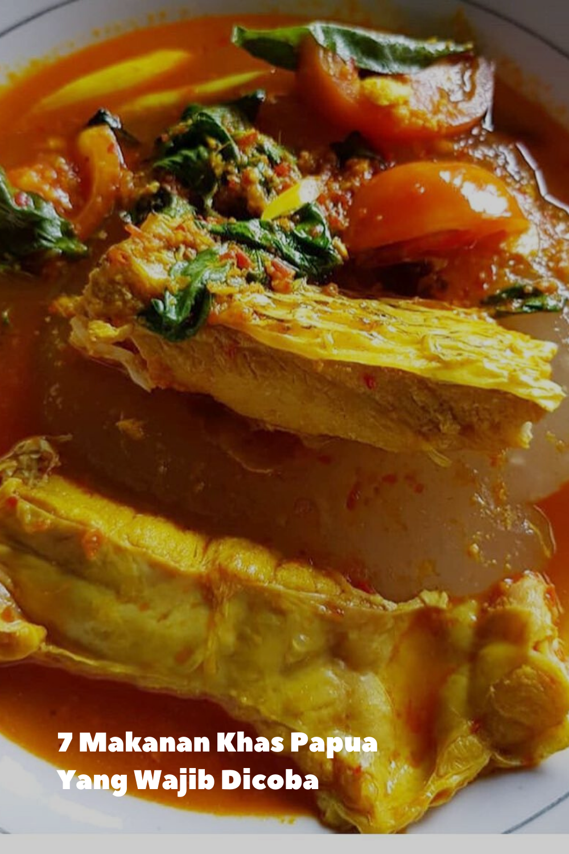 7 Makanan Khas Papua Yang Wajib Dicoba Makanan Roti Gulung Ubi