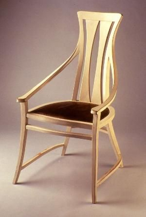 Art Nouveau Armchair For The Dining Room Of The Peter Behrens