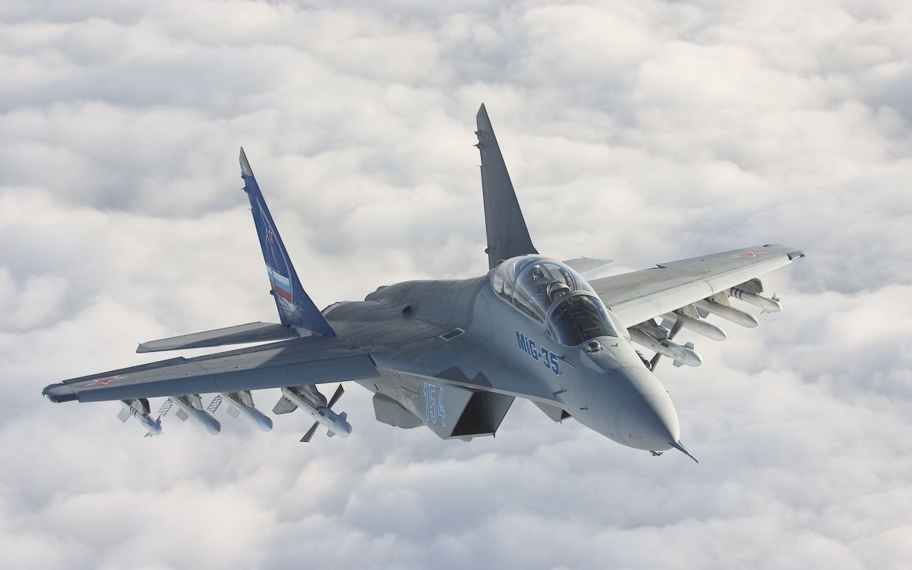 Fighter Plane | mig 35 fighter plane hd wallpaper | 9to5HDwallpapers