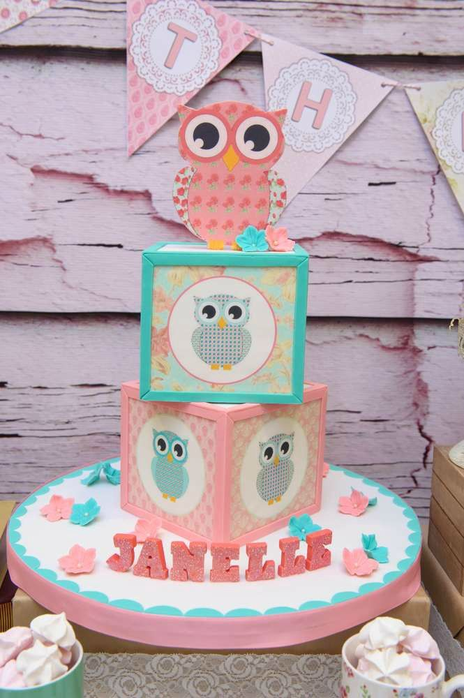Outstanding Owl Birthday Party Ideas With Images Owl Birthday Parties Owl Funny Birthday Cards Online Aeocydamsfinfo