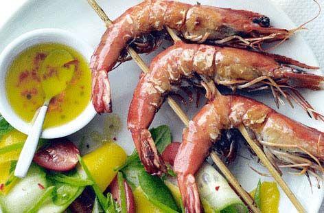 Prawn Pad Thai Salad Recipe Foodbites Common Prawn Salad