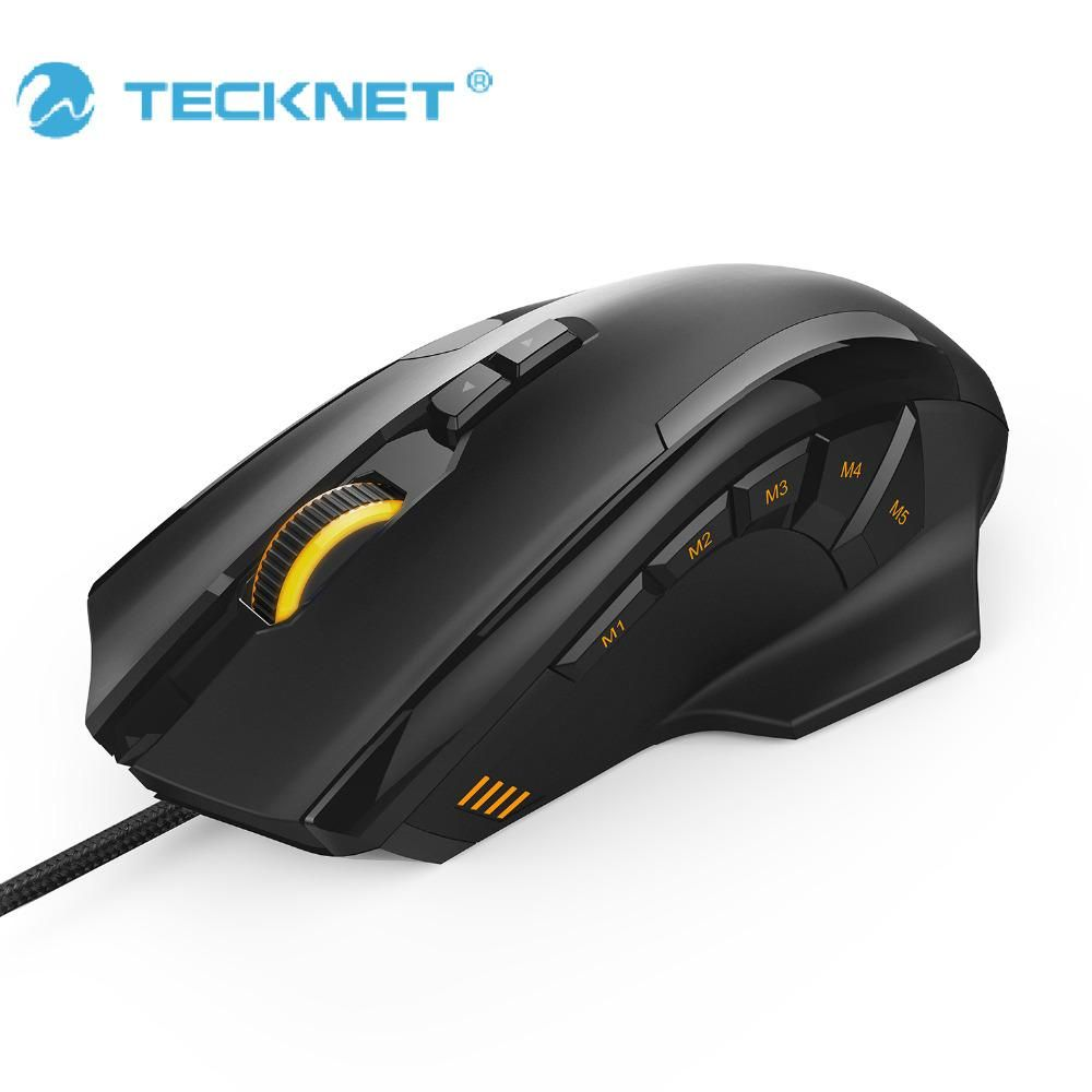 ddd2a0dc97d TeckNet 4D Laser Gaming Mouse with 16400 DPI 12 Button Tuning Cartridge  Micro Switches For Computer PC Laptop desktop LOL game