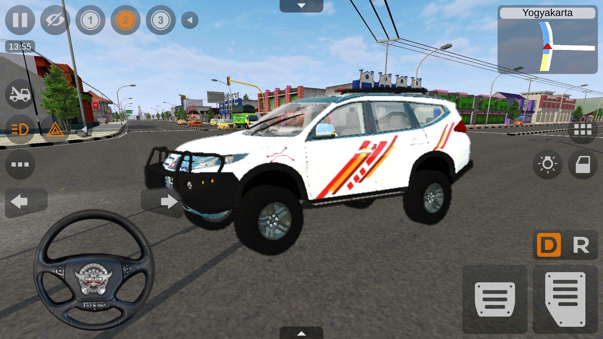 Pajero Offroad Bus Simulator Indonesia Android Gameplay Di 2021 Indonesia