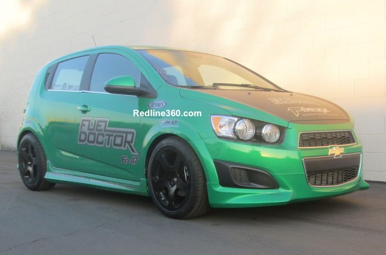 2013 Chevy Sonic Gets Some Megan Racing Love With These 32 Way
