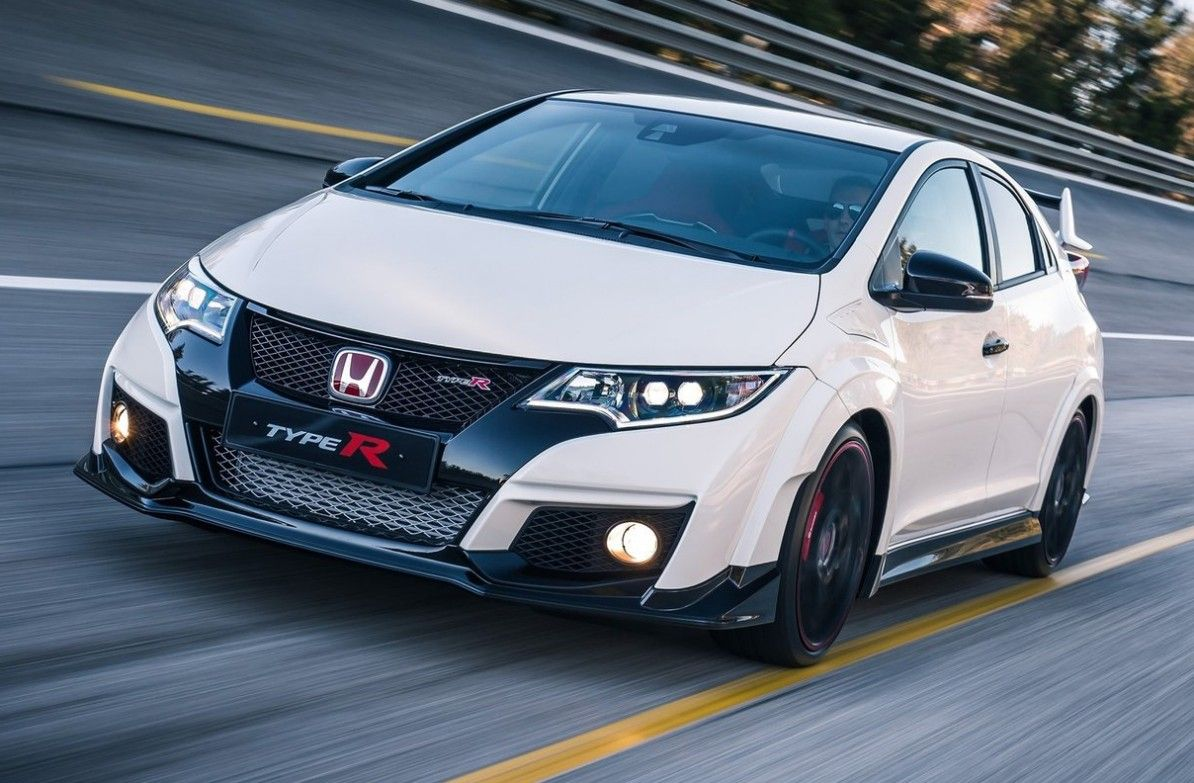 The New Honda Civic Type R Is More Than Just 19 Rims And Tires Honda Civic Type R Honda Civic 2015 Honda Civic