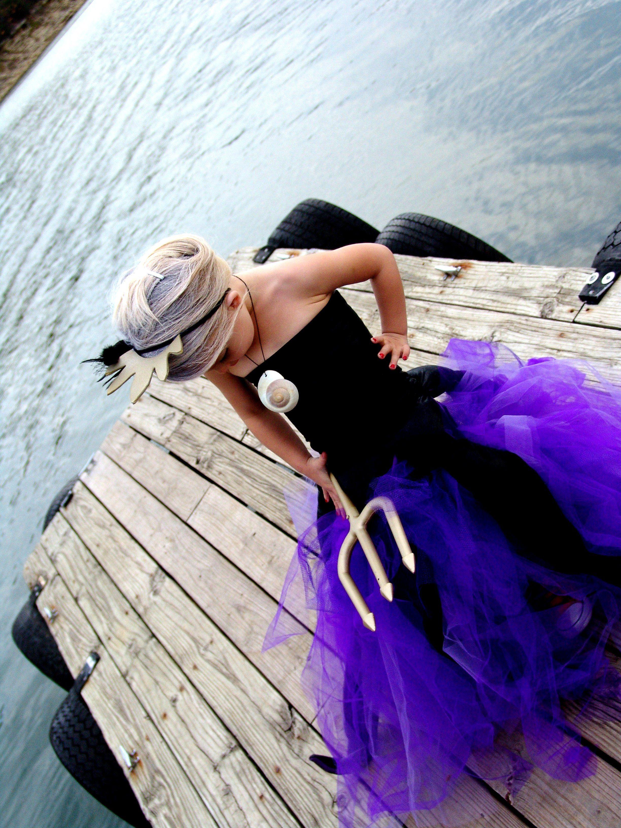 Little Mermaid's Ursula Sea Witch DIY Costume