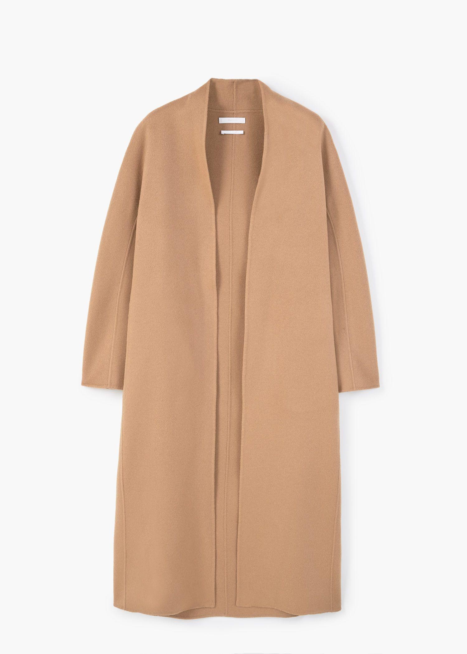 50% rebajado mejor selección Cantidad limitada abrigo camel