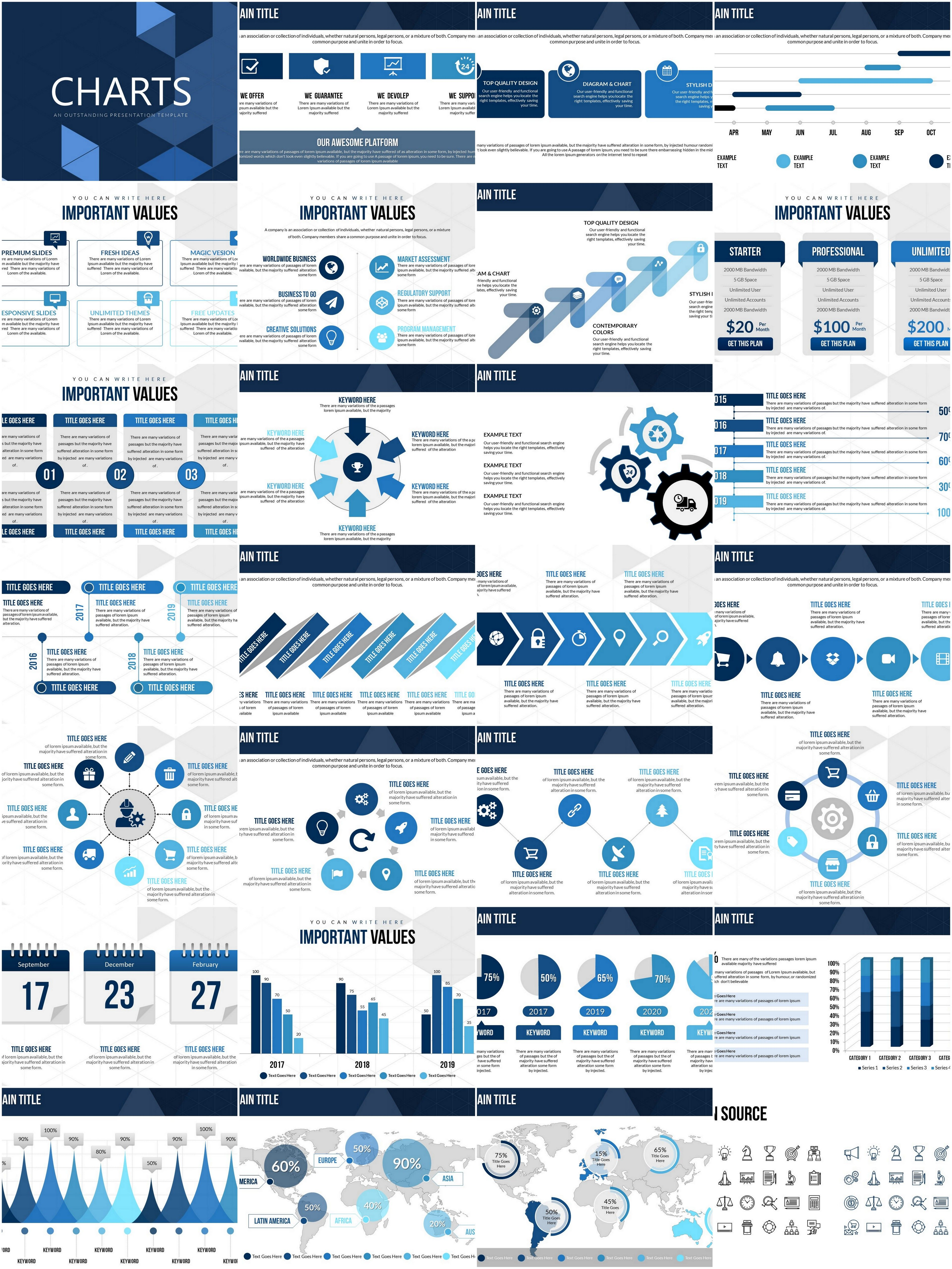 Simple and Useful Tricks for Analysis PowerPoint charts