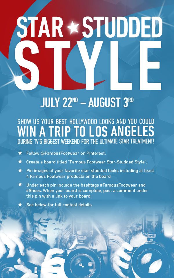 For More Details and Official Rules Visit http://starstuddedstyle.pen.io/