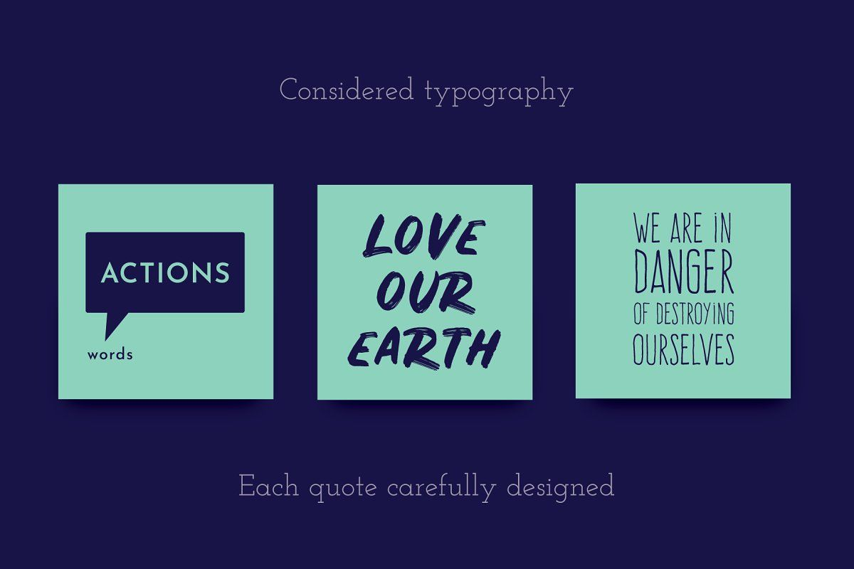 Eco Quotes 61 Quotes Pack Eco quotes, Be yourself