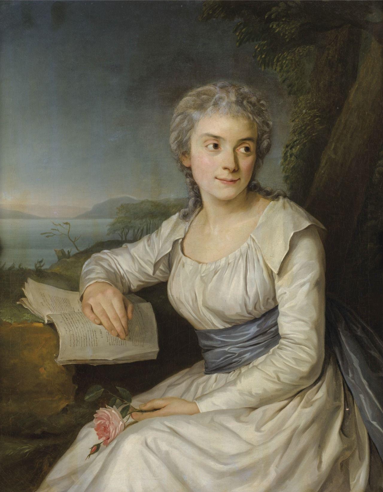 La comtesse de lameth n e marie anne de picot de bayonne - Peinture bayonne ...