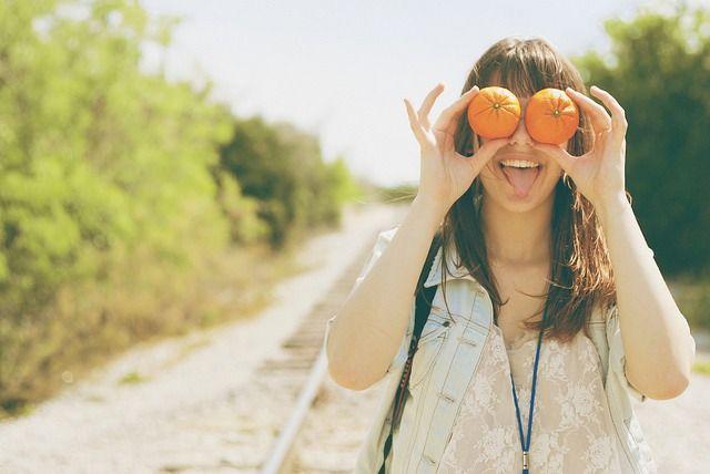 Frau single glücklich