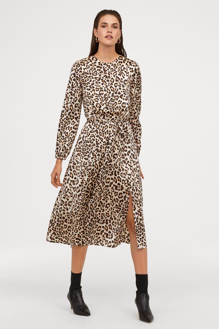 comprar donde puedo comprar nuevo baratas Vestido estampado in 2019 | POSSIVEL AW20 | Dresses, Dress ...