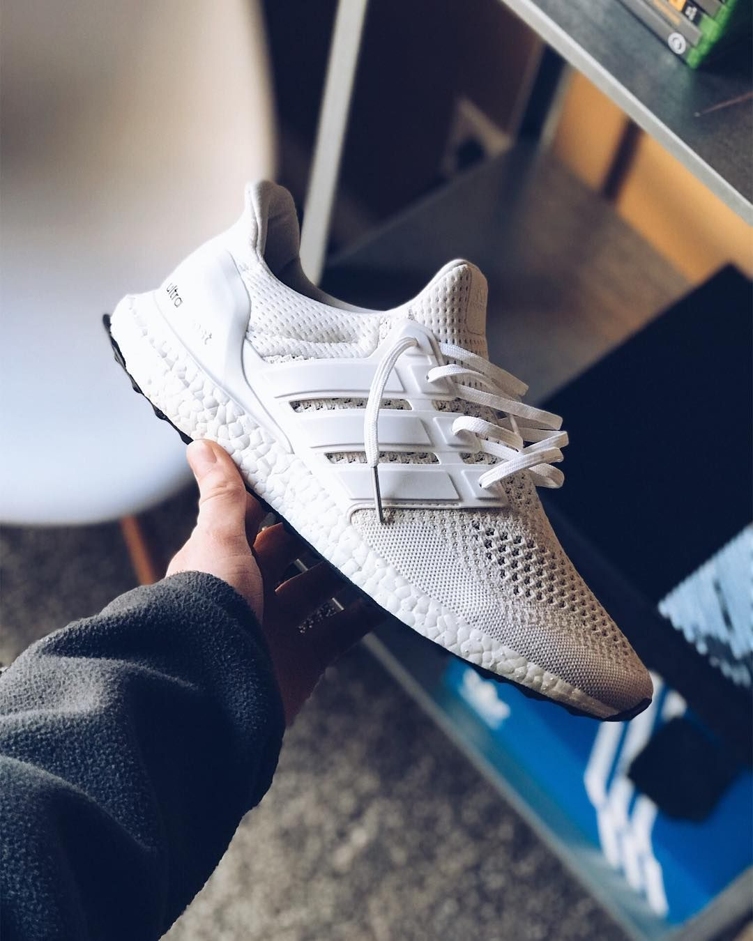 adidas UltraBoost 4.0 All White | snkraddicted.com