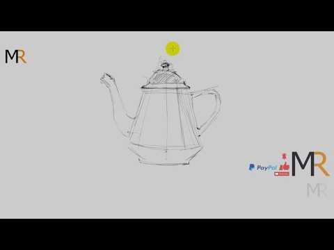 رسم ابريق اوت لاين سكتش Sketch Youtube Artist At Work Art Drawings Sketches Drawing Sketches