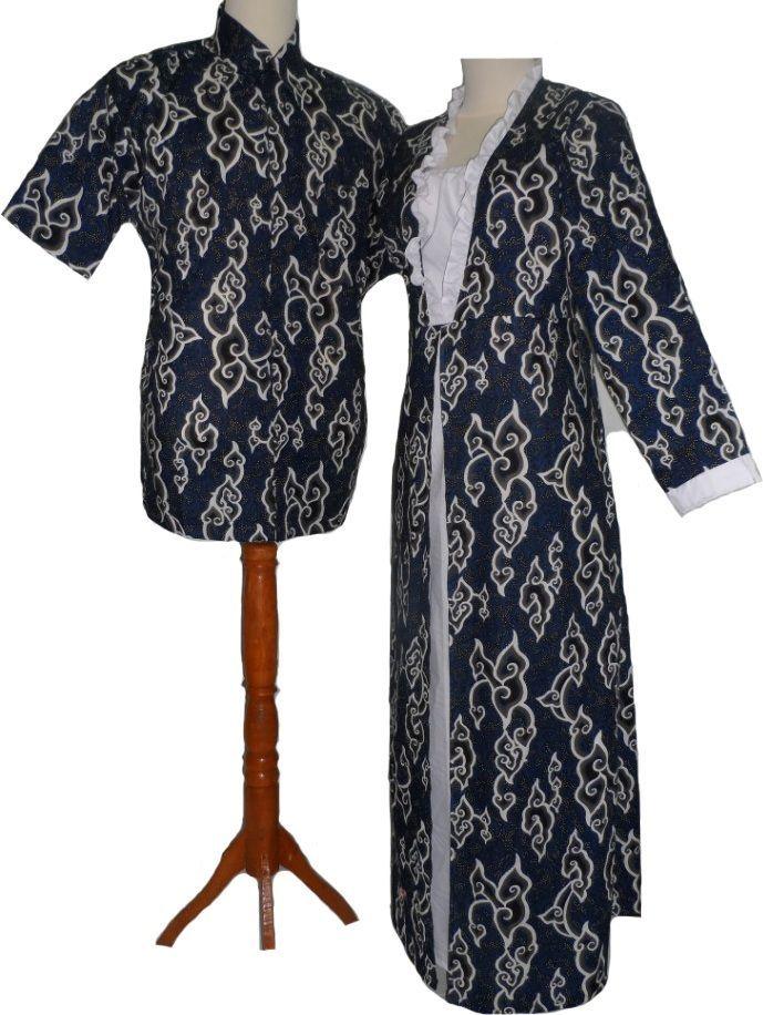30 Desain Baju Batik Mega Mendung di 2020 | Pakaian ...