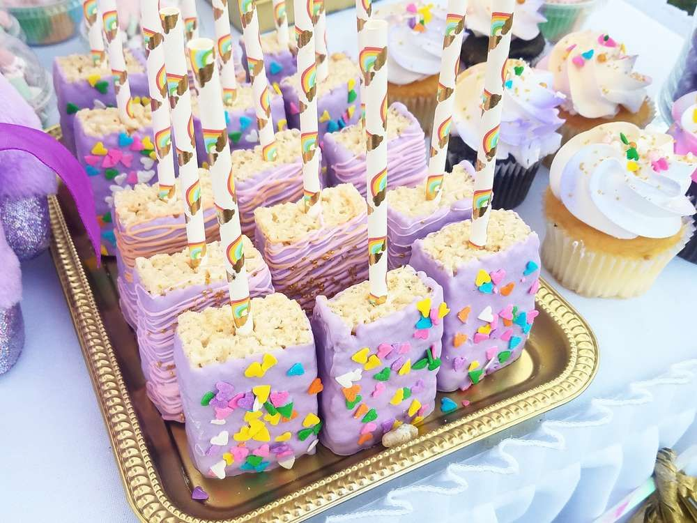 Unicorns Baby Shower Party Ideas Princess Birthday Pinterest
