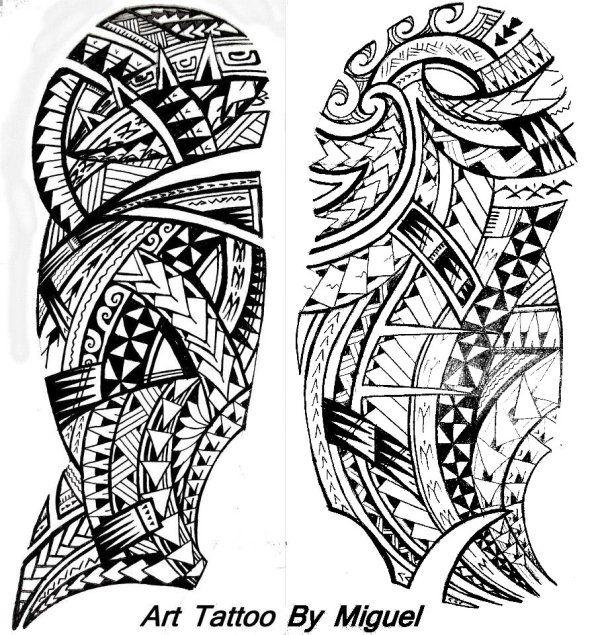 Dessin De Tatouage Maorie