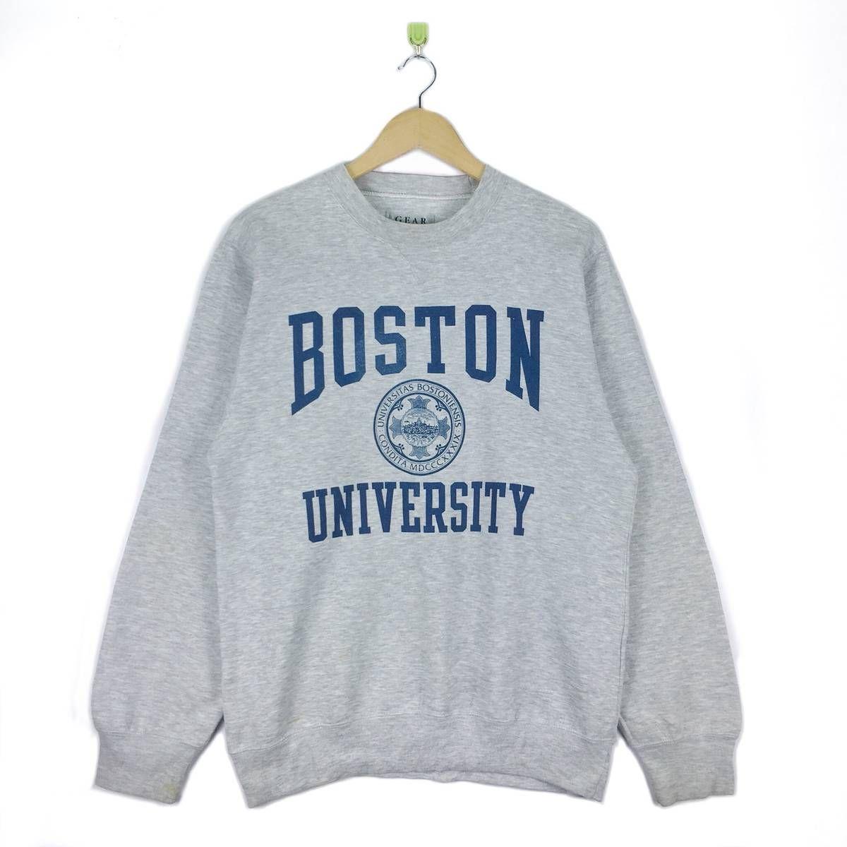 Searching For Vintage Boston University Rayon Sweatshirt Crewneck Big Logo Made In Taiwan Pullover Jum Sweatshirts Crewneck Sweatshirt Outfit Sweatshirt Outfit [ 1200 x 1200 Pixel ]