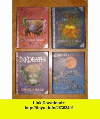 Set of 4 inkheart inkspell inkdeath dragon rider cornelia funke set of 4 inkheart inkspell inkdeath dragon rider cornelia funke fandeluxe Choice Image