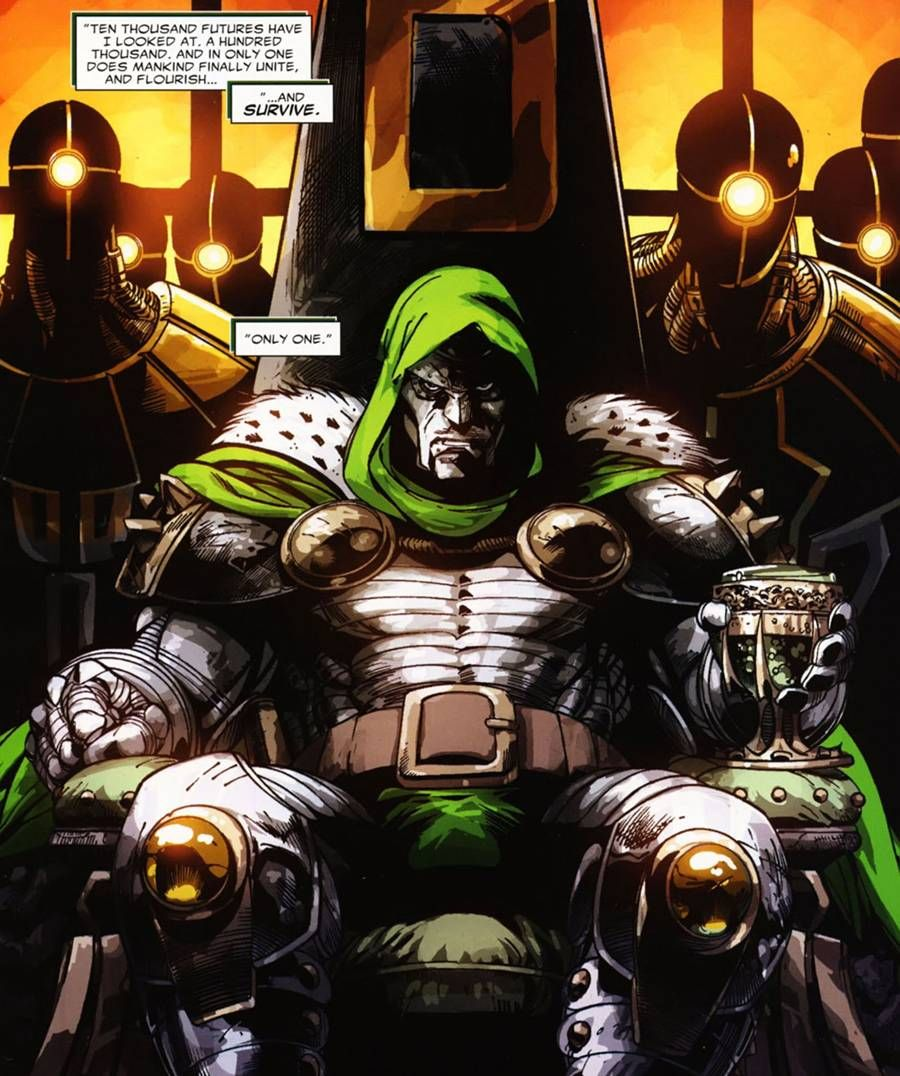 Doctor Evil Comic Image Dr Doom And Hi Empire V Hydra Aim Marvel Villain Movie Superhero Villains Theme Of The Good Morrow By John Donne