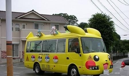 Pokemon Bus… I Choose You! | Funny Pictures, Quotes, Pics,  Photos ...  coolest bus ever