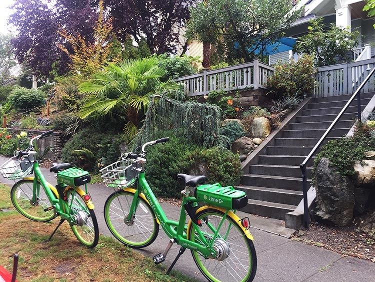 Lime Bikes And Scooters For Shared Transport Options Bike Share