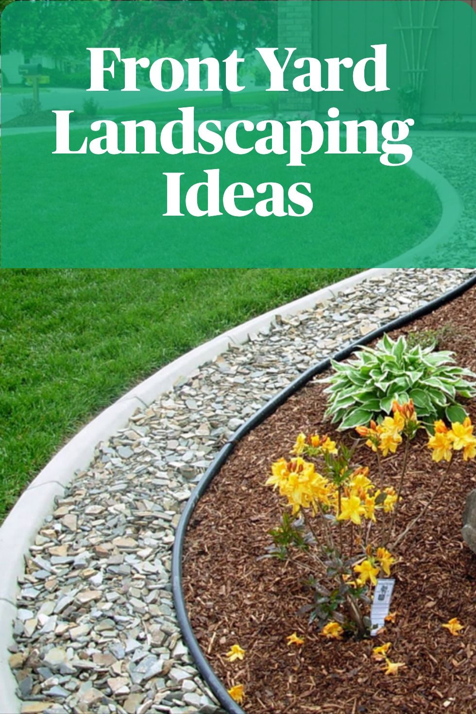 Front Yard Landscaping Ideas In 2020 With Images Landscaping On A Hill Front Yard Landscaping Landscaping Inspiration