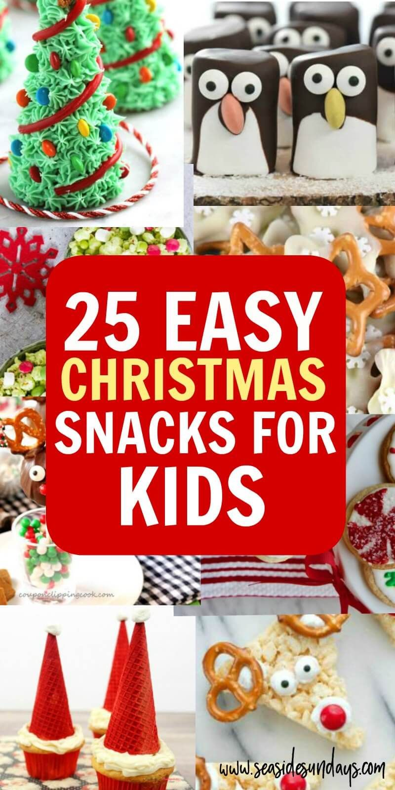 25 Cute Christmas Snacks For Kids Christmas Party Treats Christmas Party Snacks School Christmas Party