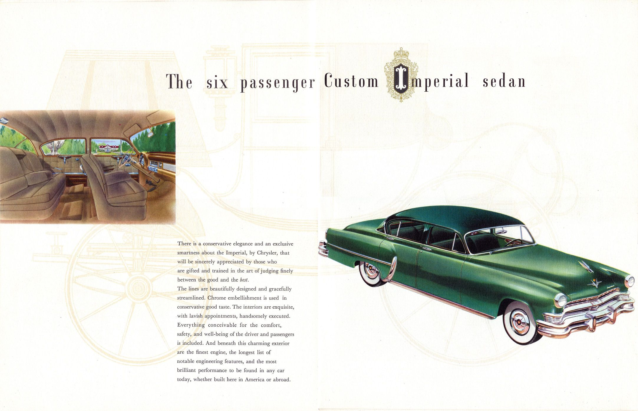 1953 Chrysler Custom Imperial Town Sedan