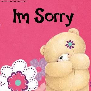 I'm sorry | teddy bears | Friends forever, Friend pictures, Cute