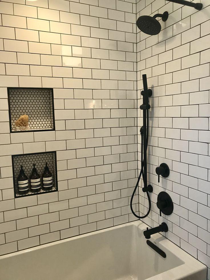 Photo of Kohler soaking tub, Moen matte black fixtures #bathroomdiy #YourPinterestLikes