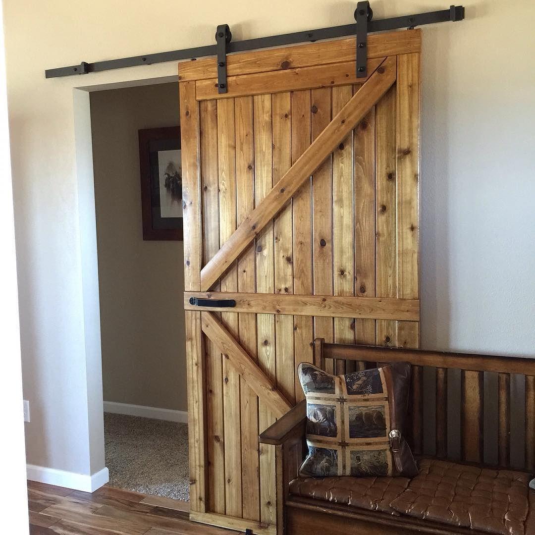 Living Room Sliding Barn Door Double Z Barn Door With Rustica