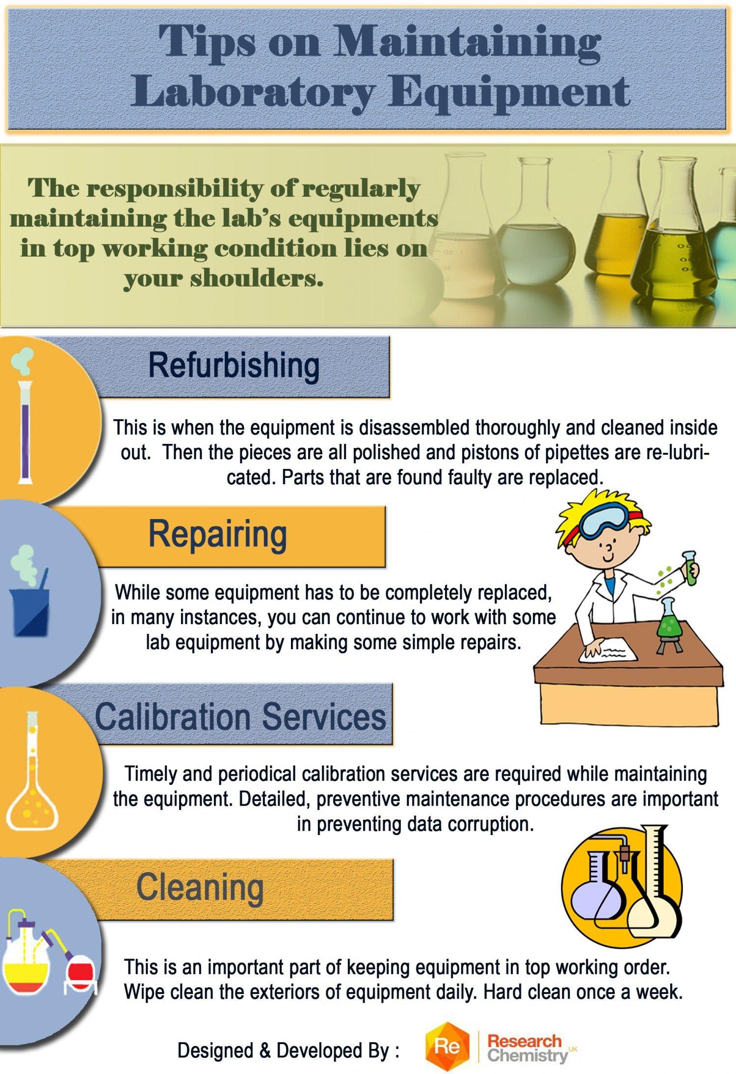 Tips On Maintaining Laboratory Equipment Science Equipment Biology Labs Laboratory Equipment