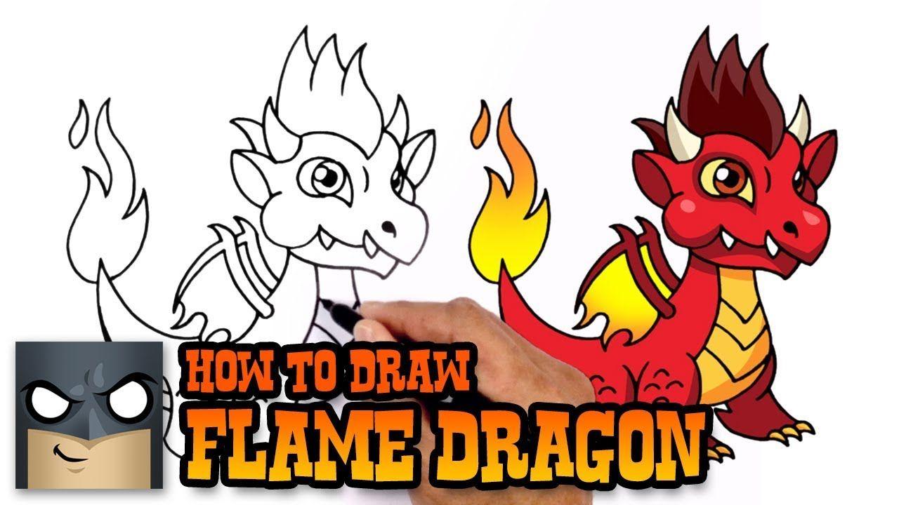 How To Draw Flame Dragon Dragon City City Drawing Dragon Drawing
