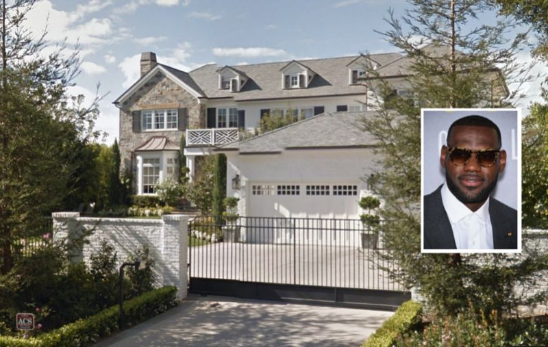LeBron James Snags $21M L.A. Mansion as His Hollywood ...