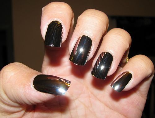 Mirror Nail Polish Designs1